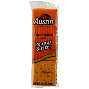 Austin Cheese Crackers with Peanut Butter, 45 Count