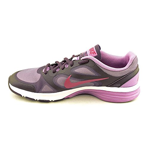 pictures of Nike Womens Dual Fusion TR Grd Purple/Spt Fchsa/Atmc Purple  Running