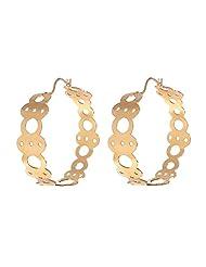 Amethyst By Rahul Popli Gold Silver Clip-On Earrings