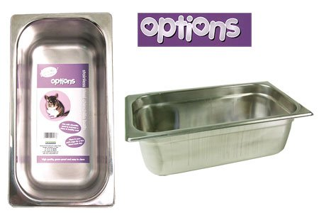 Rosewood Options Stainless Steel Chinchilla Bath