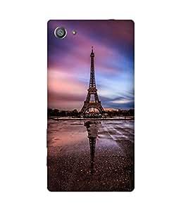 Eiffel Upside Down Sony Xperia Z5 Case