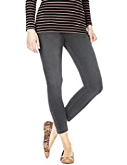 Petite Cotton Rich Pull On Denim Jeggings