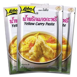 thai yellow curry paste oz pack of 3 thai seasoning curry