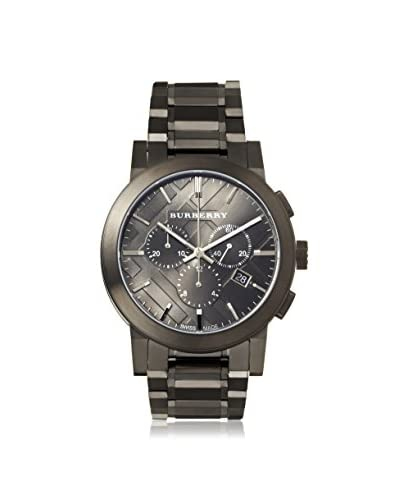Burberry Men's BU9354 The City Chronograph Grey Stainless Steel Watch