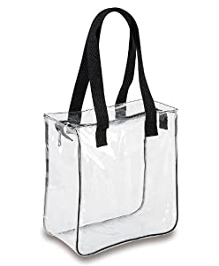 Amazon Com Clear 12 X 12 X 6 Nfl Stadium Tote Bag With