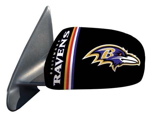 Fanmats Nfl Baltimore Ravens Polyester Mirror Cover-Small