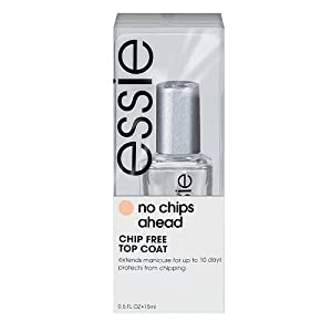essie No Chips Ahead Top Coat .5 fl oz
