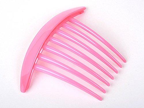 7本櫛 ヘアピン 髪飾り 女性 正装 和装 ピンク