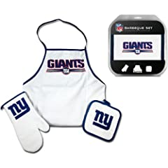 Buy McArthur Sports New York Giants BBQ Set by McArthur