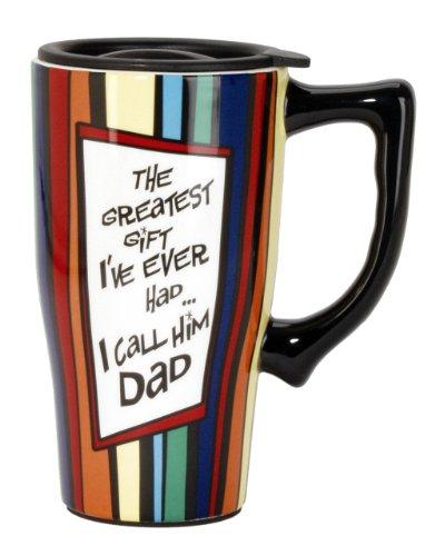 Spoontiques Dad Travel Mug, Multi Colored