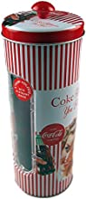 Comprar Coca Cola Retro de Coca Cola Vintage Lady rojo pajita soporte/dispensador de