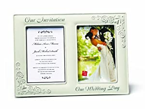 Russ Invitation Our Wedding Day Openings Frame, 5 by 7-Inch