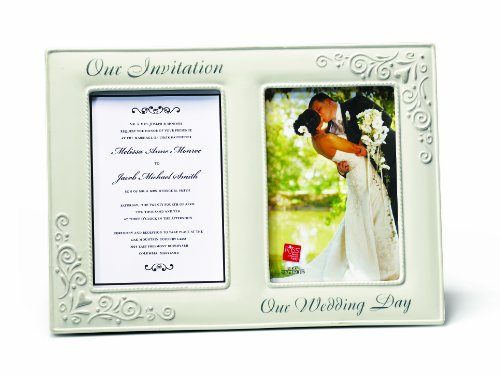 Russ Invitation Our Wedding Day Openings Frame,