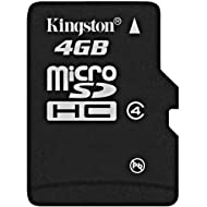 Kingston Micro SD 4GB Memory Card