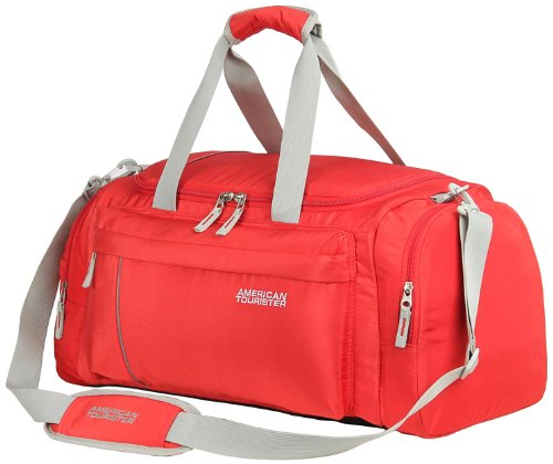 American Tourister X Bag Casual 2 Nylon 55Cms Red Travel Duffle