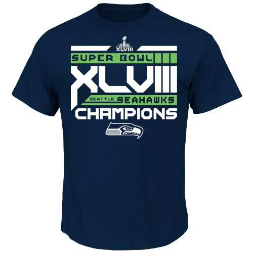 NFL Super Bowl Champion Seattle Seahawks Strength of Schedule II Tee, Small at Amazon.com