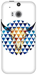 The Racoon Grip Taurus hard plastic printed back case / cover for HTC One (M8)