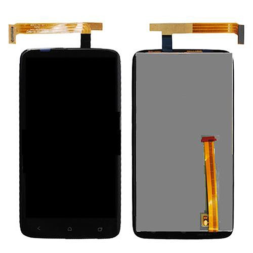 Epartsolution-Oem Htc One X Lcd Display And Digitizer Touch Screen Assembly Green Flex Sharp Version Replacement Part Usa Seller