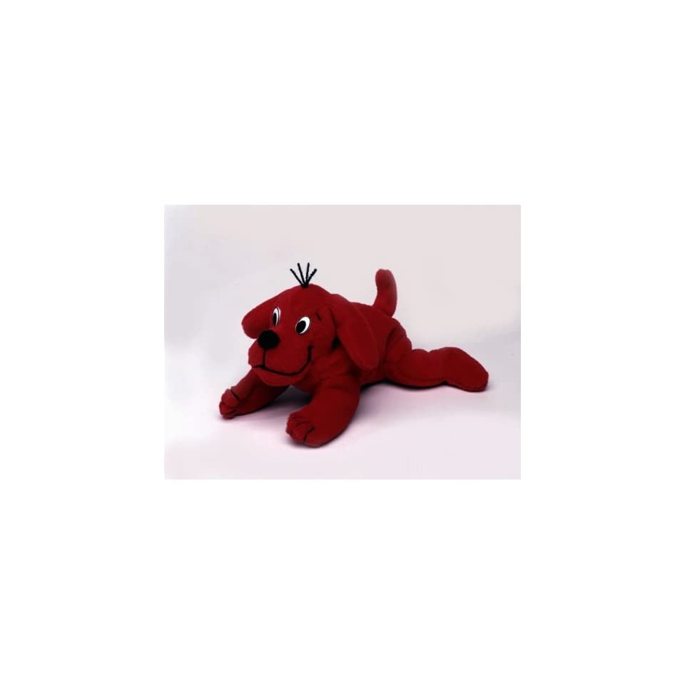 Clifford the Big Red Dog 8 Plush Bean Bag (1997)