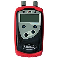 "Meriam M1 Series Digital Manometer Calibrator, 0-28.00"" H2O Range, +/- 0.10% Accuracy, 1/8"" NPT Female Connection"