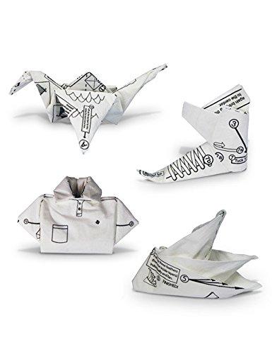 origami servietten tischdeko 40 st ck weiss 17x17cm. Black Bedroom Furniture Sets. Home Design Ideas