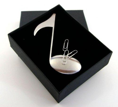 Briefffner-mit-Magnet-Edelstahl-Achtelnote-in-Geschenkbox-Schnes-Geschenk-fr-Musiker