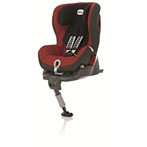 Britax Safefix Plus Isofix Forward Facing Group 1 Car Seat (Chili Pepper)