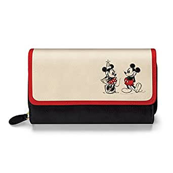 Disney Mickey Mouse & Minnie Mouse Love Story Women's Faux Leather