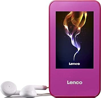 LENCO XEMIO-858 MP4-PLAYER 4GB PINK