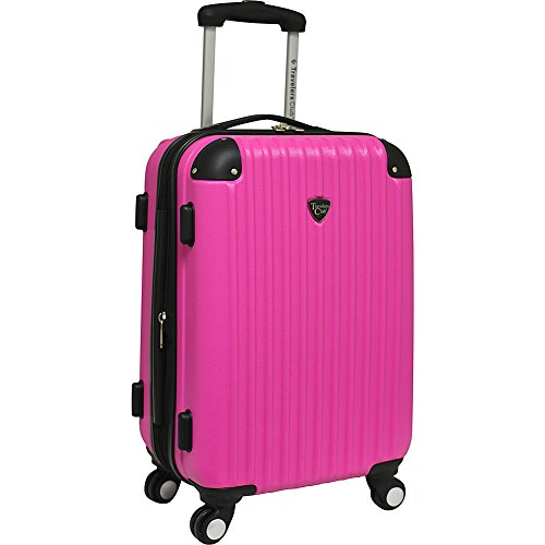 Travelers Club Luggage Chicago 20 Inch Expandable