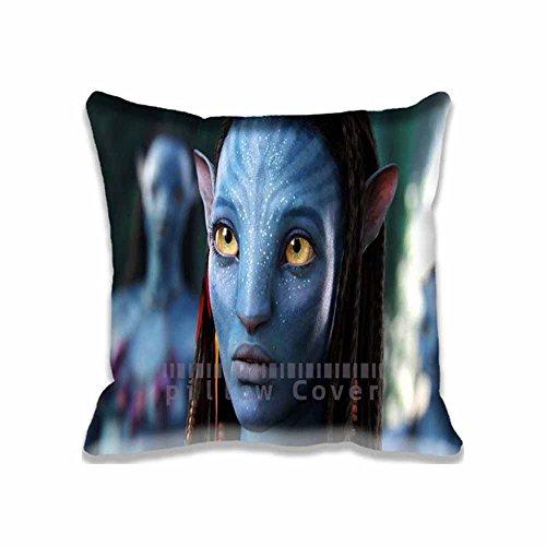 Custom Design Neytiri Avatar Movie Pillow Cases Zippered , 20x20 Square Movies Pillowcase - Avatar Cushion Covers Two Size (Sexy Neytiri)