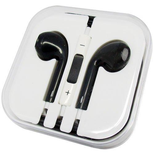 24Hb 3.5Mm Plug In-Ear Earphone With Microphone & Volume Control (Black)