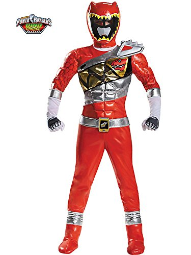 Red Ranger Dino Charge Prestige Costume for Kids