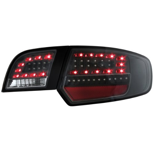 Dectane RA17LB LED Rear Lights Audi A3 Sportback 03-08 Black