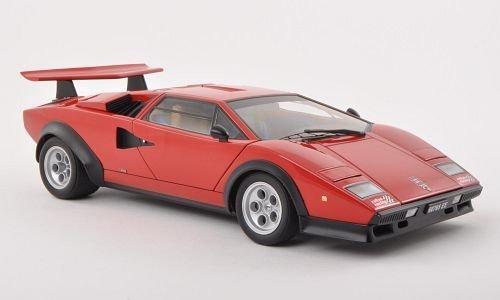 Lamborghini Countach LP500S, Walter Wolf Edition, rot , 1975, Modellauto, Fertigmodell, AUTOart 1:18 by AUTOart [並行輸入品]
