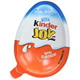 Chocolate Kinder Joy for Boys with Surprise Inside (6-Pack) (Tamaño: 6-Pack (Boys))