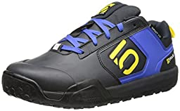 Five Ten Men\'s Impact VXI Bike Shoe, Blue/Yellow, 12 M US