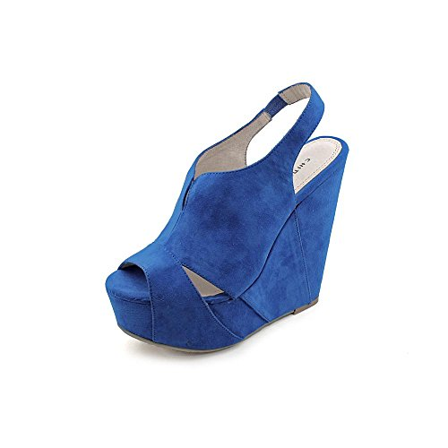 Chinese Laundry Women'S Jewel Tone Platform Sandal,Bright Blue,9 M Us front-668462