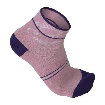 Buy Low Price Castelli 2009 Sole Cycling Sock – pink/violet/white – R9033-025 (B0029QKYO0)