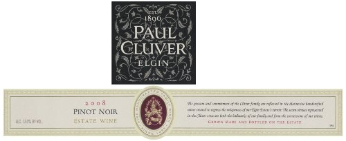 2008 Paul Cluver Elgin Pinot Noir 750 Ml