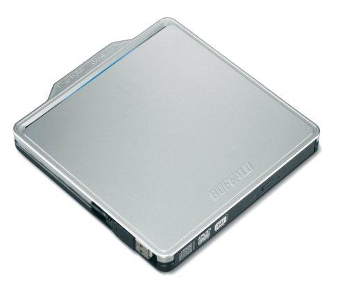 BUFFALO 再生ソフト付き USB2.0用 ポータブルDVDドライブ DVSM-PCS58U2-SV