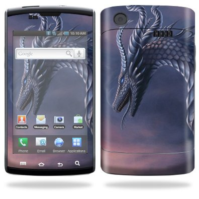 Protective Vinyl Skin Decal for Samsung Captivate AT&T Dragon Fantasy