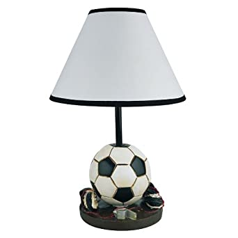 Soccer Table Lamp Girls Boys Kids Room Decorative Light ...