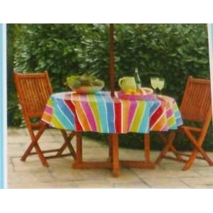 Fitted Vinyl Tablecloths Elastic tablecloths Fits round tables