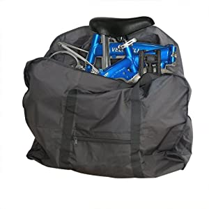 """SWT Carrier Bag for Folding Bicycle Bike --- Fit for 14"""" / 20"""" Frame Folding Bikes"""