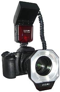 Zeikos ZE-MRN1 Digital TTL Macro Ringlight Flash for Nikon