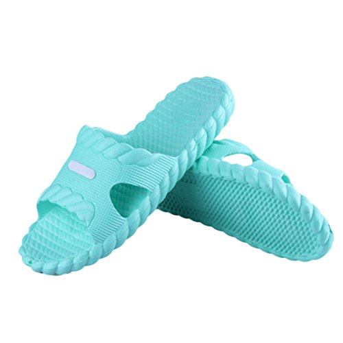 Creazy Women Summer Bathroom Shoes Sandals Slipper Indoor Home Shoes (SkyBlue, 39) (Summer Household Slippers compare prices)