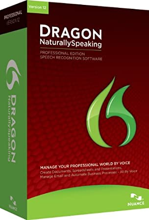 Dragon NaturallySpeaking Professional v12