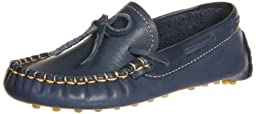 Elephantito Driver Loafers,Navy,10 M US Toddler