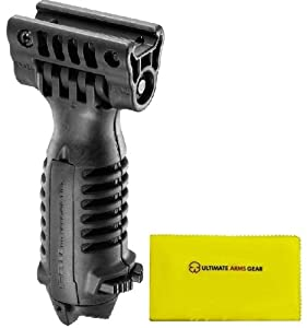 Fab Defense The Mako Group Stealth Black T-POD TPOD Vertical Holder w  Incorporated... by FAB DEFENSE-MAKO